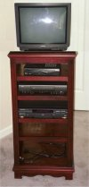 Colonial Stereo Cabinet