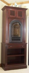 London Fireplace Cabinet